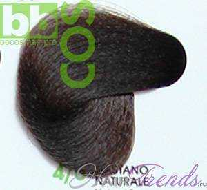 BBCos Keratin Color 4/0 шатен