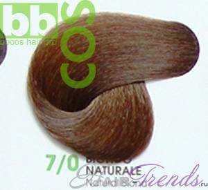 BBCos Keratin Color 7/0 блонд