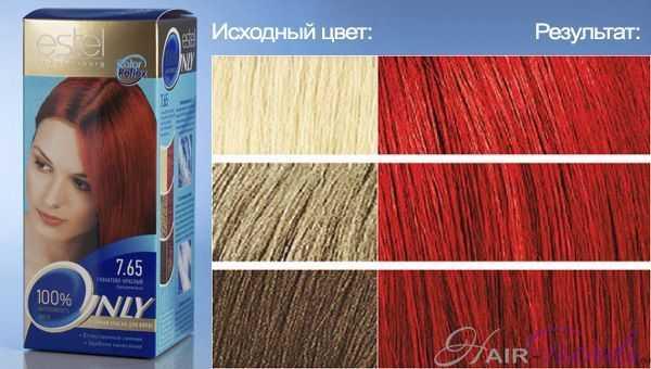 Only краска для волос палитра