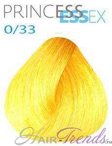 Estel Princess Essex 0/33, цвет желтый