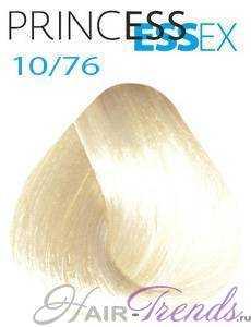 Estel Princess Essex 10/76, цвет светлый блонд коричнево-фиолетовый