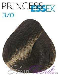 Estel Princess Essex 3/0, цвет темный шатен