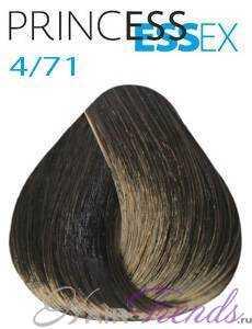 Estel Princess Essex 4/71, цвет шатен коричнево-пепельный