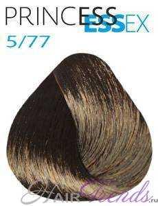Estel Princess Essex 5/77, цвет светлый шатен коричневый интенсивный