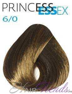 Estel Princess Essex 6/0, цвет темный русый
