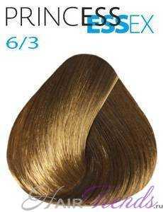 Estel Princess Essex 6/3, цвет темный русый золотистый