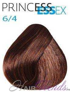 Estel Princess Essex 6/4, цвет темный русый медный
