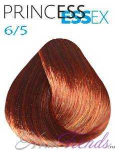 Estel Princess Essex 6/5, цвет темный русый красный