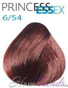 Estel Princess Essex 6/54, цвет темный русый красно-медный