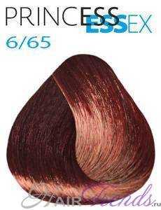 Estel Princess Essex 6/65, цвет темный русый фиолетово-красный