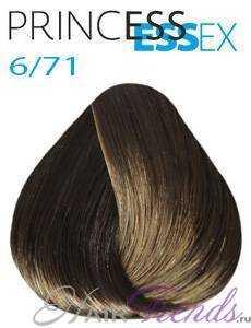 Estel Princess Essex 6/71, цвет темный русый коричнево-пепельный