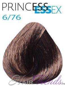 Estel Princess Essex 6/76, цвет темный русый коричнево-фиолетовый