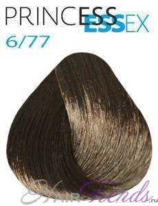 Estel Princess Essex 6/77, цвет темный русый коричневый интенсивный