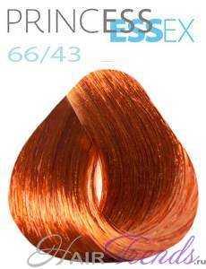Estel Princess Essex 66/43, цвет динамичная сальса