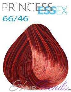Estel Princess Essex 66/46, цвет зажигательная латина