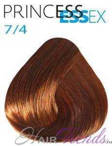 Estel Princess Essex 7/4, цвет русый медный