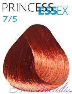 Estel Princess Essex 7/5, цвет русый красный