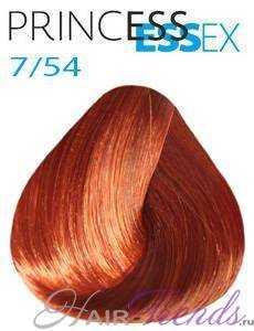Estel Princess Essex 7/54, цвет русый красно-медный