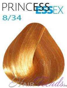 Estel Princess Essex 8/34, цвет светлый русый золотисто-медный