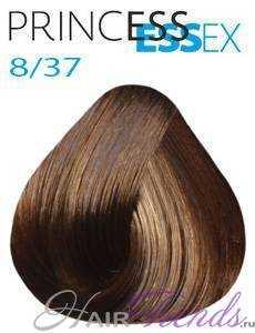 Estel Princess Essex 8/37, цвет светлый русый золотисто-коричневый