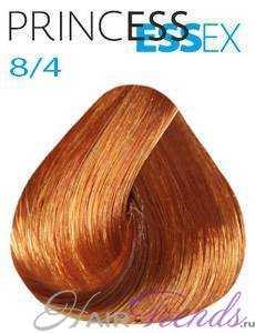 Estel Princess Essex 8/4, цвет светлый русый медный интенсивный