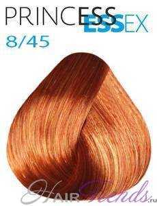 Estel Princess Essex 8/45, цвет светлый русый медно-красный