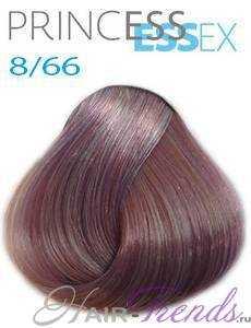 Estel Princess Essex 8/66, цвет светлый русый фиолетовый интенсивный