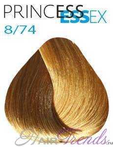Estel Princess Essex 8/74, цвет светлый русый коричнево-медный