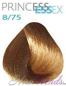 Estel Princess Essex 8/75, цвет светлый русый коричнево-красный