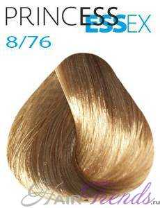 Estel Princess Essex 8/76, цвет светлый русый коричнево-фиолетовый