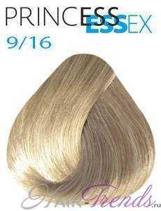 Estel Princess Essex 9/16, цвет блонд пепельный фиолетовый