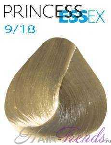 Estel Princess Essex 9/18, цвет блонд пепельный жемчужный