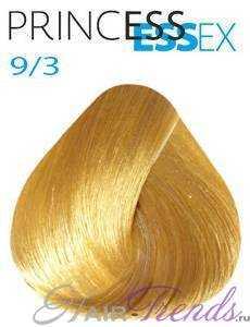 Estel Princess Essex 9/3, цвет блонд золотистый