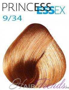 Estel Princess Essex 9/34, цвет блонд золотисто-медный