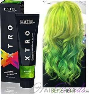 Пигмент Estel XTRO зеленый