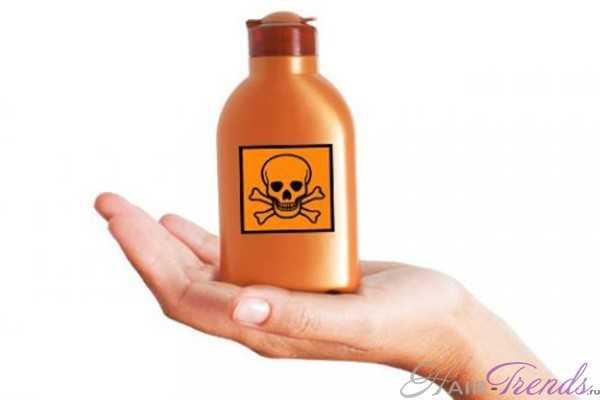 Токсичные химические ингредиенты в средствах по уходу за волосами