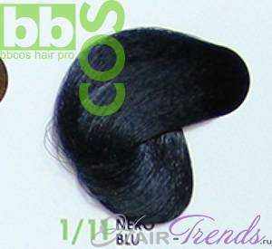 BBCos Keratin Color 1/11 черно-синий