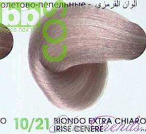 BBCos Keratin Color 10/21 блонд очень-светлый фиолетово-пепельный