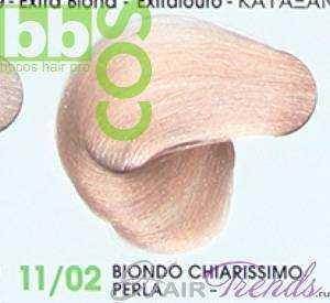 BBCos Keratin Color 11/02 очень светлый блонд жемчужный