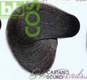 BBCos Keratin Color 3/0 шатен темный