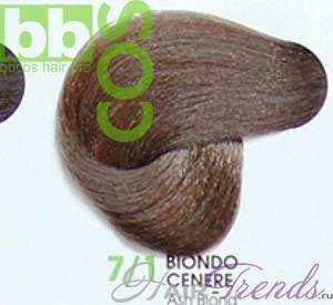 BBCos Keratin Color 7/1 блонд пепельный