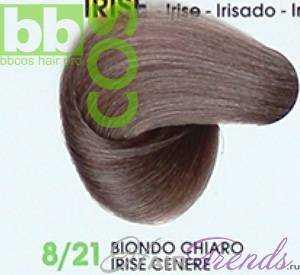BBCos Keratin Color 8/21 светлый блонд фиолетовый