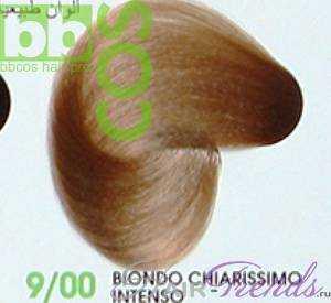 BBCos Keratin Color 9/00 очень светлый блонд интенсивный