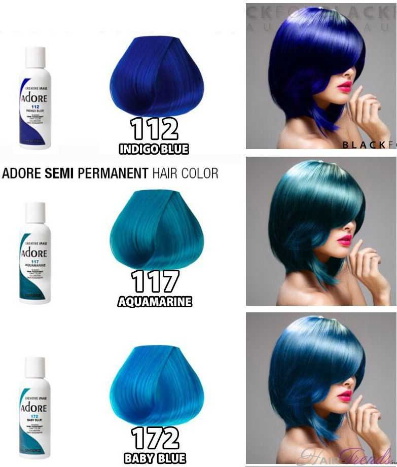 Палитра цветов краски Adore Creative Image Color