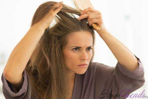если выпадают волосы на голове