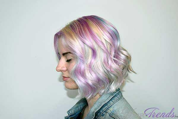 Как получить голографический эффект на волосах