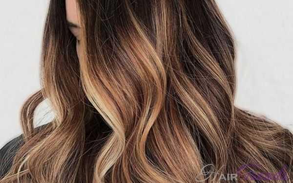Цвет волос карамельный латте