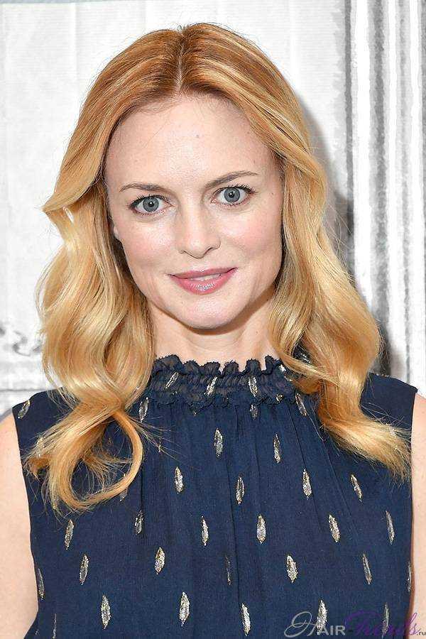 Разные оттенки краски клубничный блонд на знаменитостях