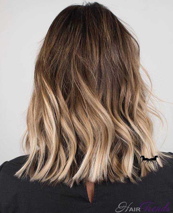 Цвет волос жареный кокос