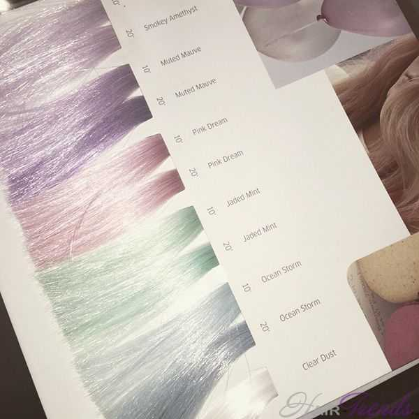 Дымчатый цвет волос краска